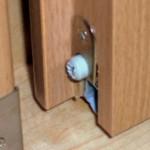 Absenkbare Bodendichtung für Zimmertür